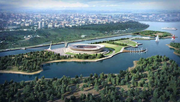 Draft of Stadium in Nizhny Novgorod