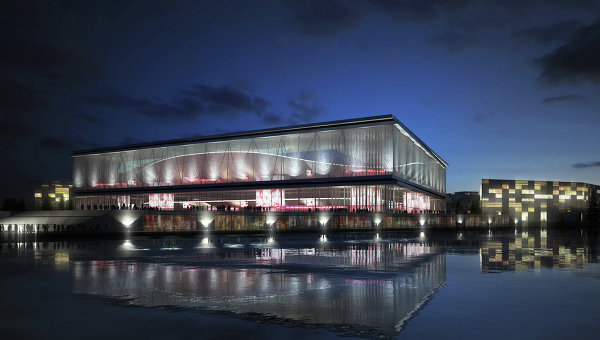 Draft of Stadium in Kaliningrad