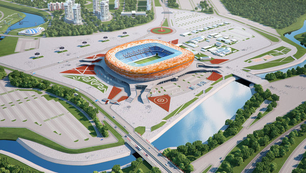 Draft of Stadium in Saransk