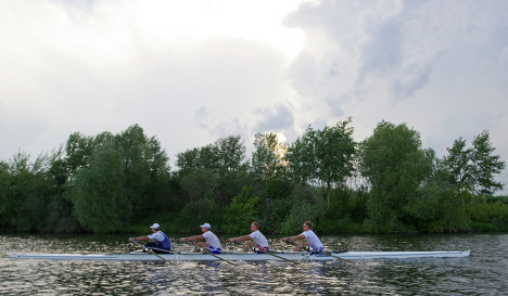 Russian rowers