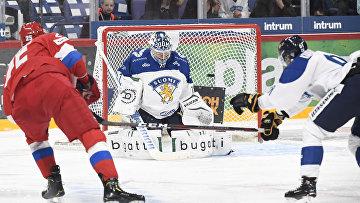 Матч хоккейного Евротура между сборными России и Финляндии пройдет в Ярославле