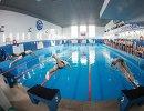 Сдача нормативов ГТО по плаванию в рамках фестиваля Готов к труду и обороне в бассейне Надежда в Благовещенске