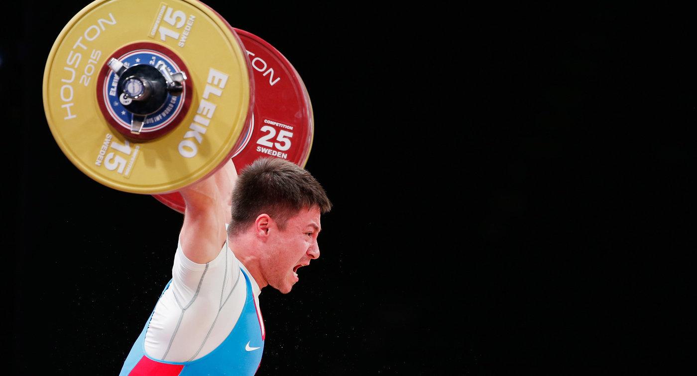 IWF временно отстранила русского  тяжелоатлета Чена поподозрению вупотреблении допинга