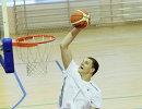 Центровой мужской сборной России по баскетболу Тимофей Мозгов
