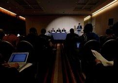 Пресс-конференция WADA в Женеве, 9 ноября
