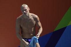 Спортсмен сборной России по прыжкам с трамплина Илья Захаров