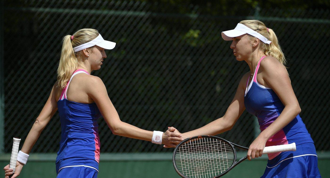 Украинки Киченок выиграли турнир WTA Elite Trophy в парном разряде
