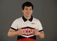 Борец Виктор Лебедев