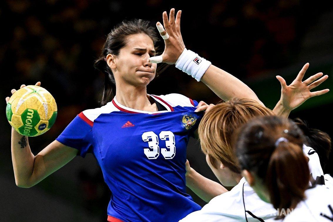 Игрок сборной России Екатерина Ильина