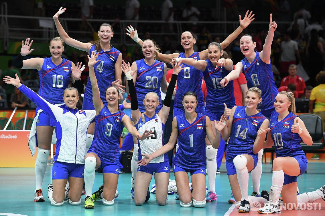 Состав сборной россии по волейболу на олимпиаду 2016