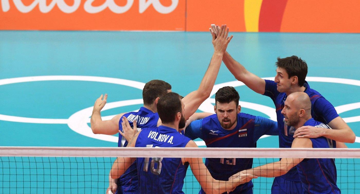 Максим Михайлов, Александр Волков, Егор Клюка, Артем Вольвич и Сергей Тетюхин (слева направо)