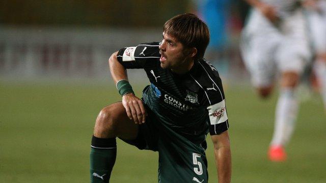 Полузащитник Краснодара Дмитрий Торбинский