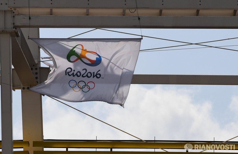 Флаг Олимпийских игр-2016