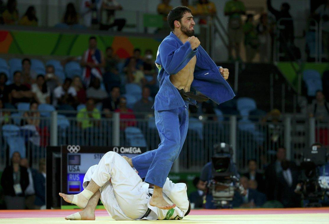 Хасан Халмурзаев после победы над Трэвисом Стивенсом