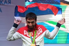 Российский дзюдоист Хасан Халмурзаев