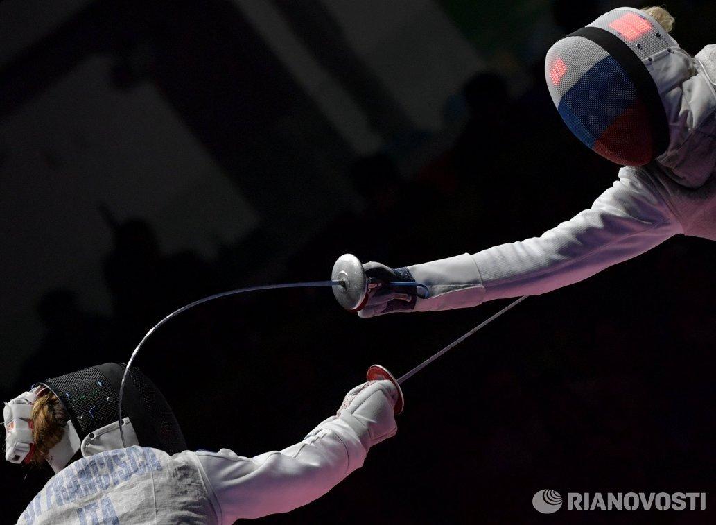 Инна Дериглазова (справа) и Элиза Ди Франчиска