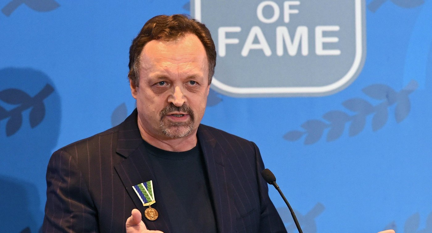 Спортивный комментатор Виктор Гусев