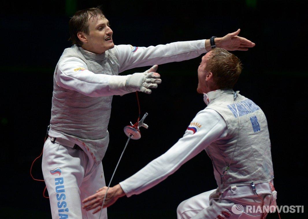 Артур Ахматхузин (справа) и Алексей Черемисинов