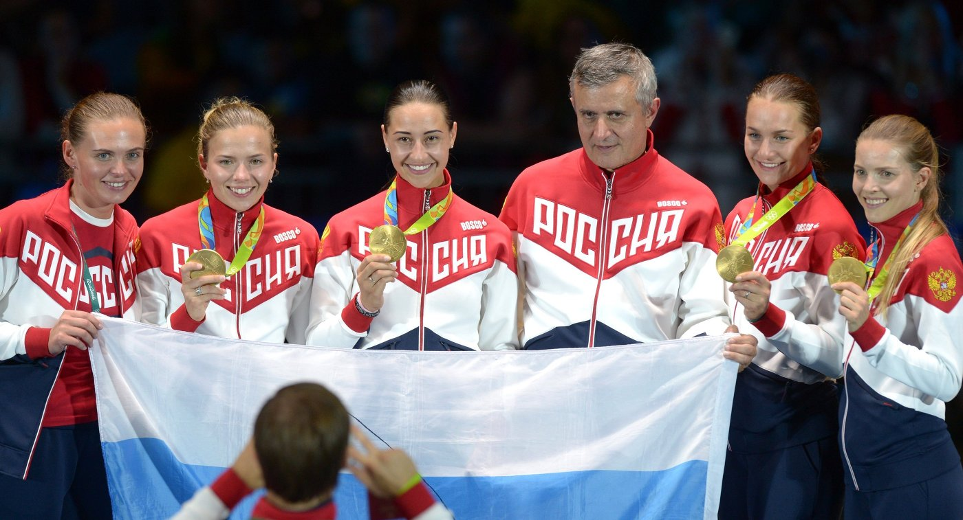 транзистора сборная по фихтованию на олимпиаде 2016 люди