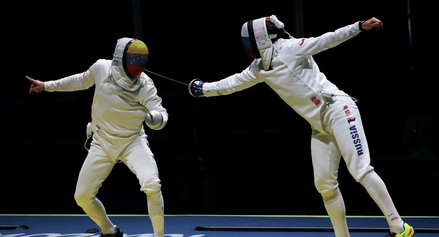 Украинец Никишин завоевал «серебро» наэтапе Кубка мира пофехтованию