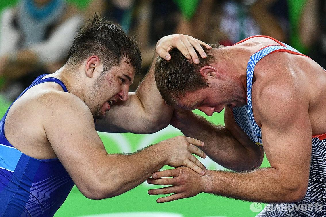 Сергей Семенов и Хейки Наби (слева направо)