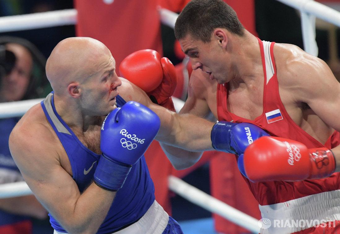 Справа налево: Евгений Тищенко и Василий Левит