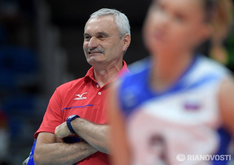 Главный тренер женской сборной России по волейболу Юрий Маричев