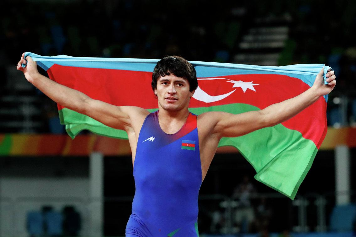 Азербайджанский борец греко-римского стиля Расул Чунаев
