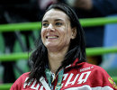 Двукратная олимпийская чемпионка по прыжкам с шестом Елена Исинбаева