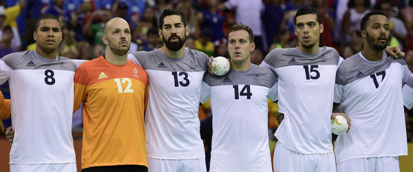 Гандболисты сборной Франции