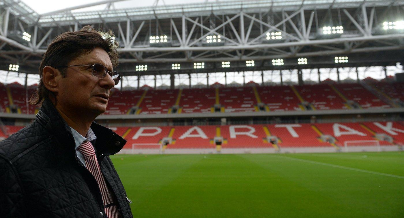 Леонид Федун на открытии стадиона Открытие Арена