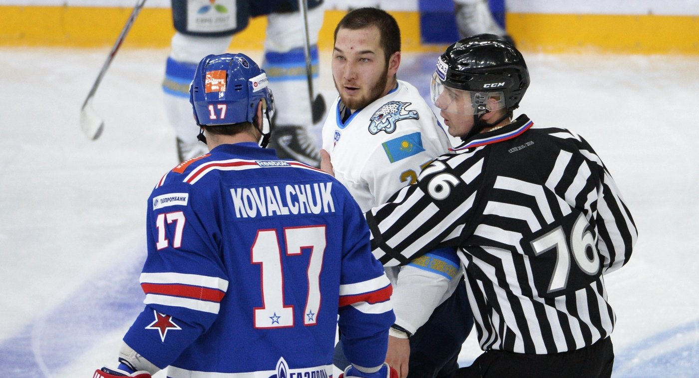 Рыспаев вновь сумеет выйти налёд вматче КХЛ
