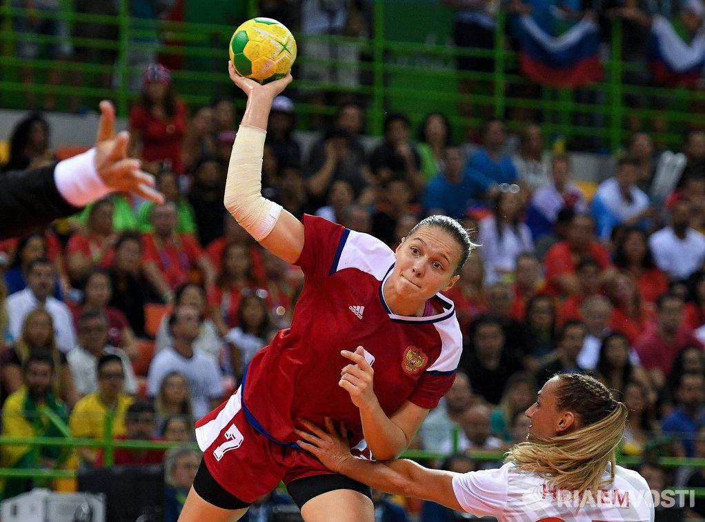 Гандболистка сборной России Дарья Дмитриева