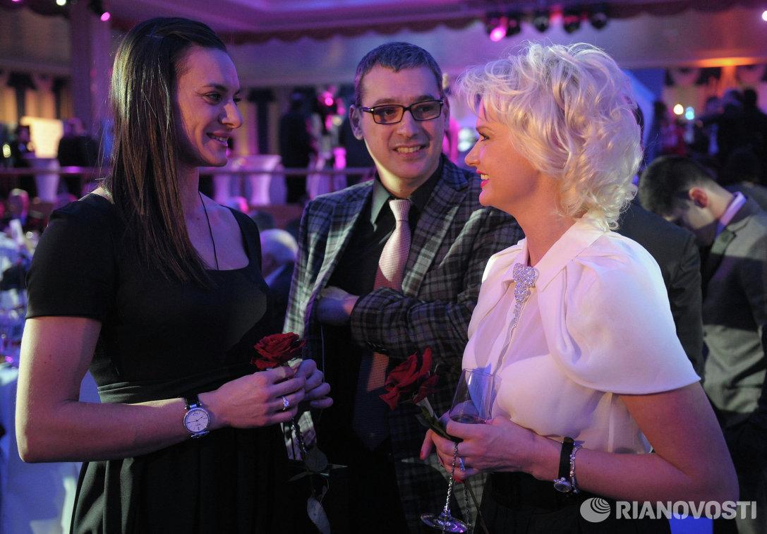 Eлена Исинбаева и Светлана Хоркина