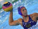 Игрок женской сборной России по водному поло Екатерина Прокофьева