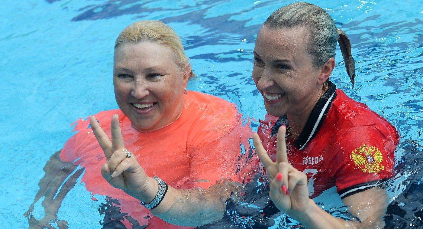 Татьяна Покровская (слева) и Татьяна Данченко