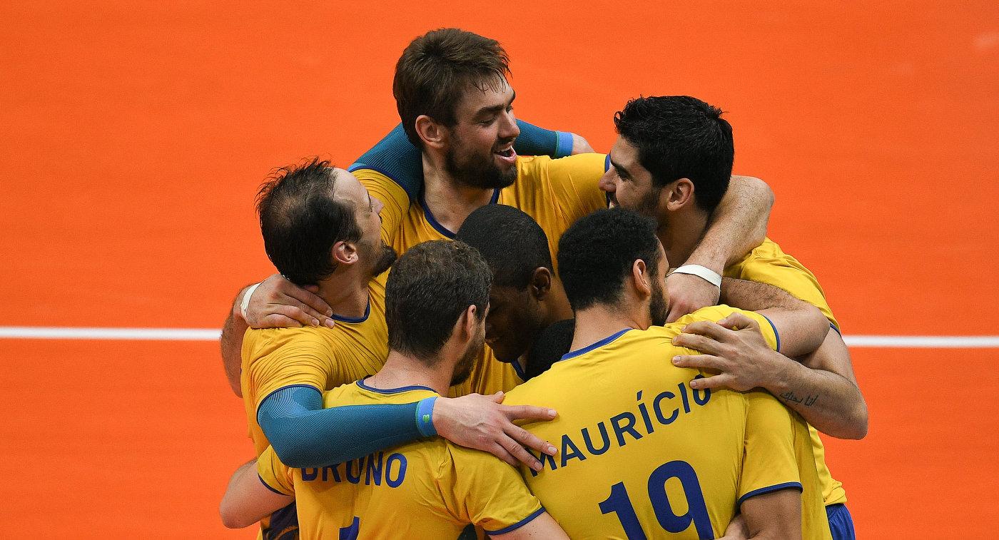 Волейболисты сборной Бразилии одержали победу воВсемирном кубке чемпионов 2017