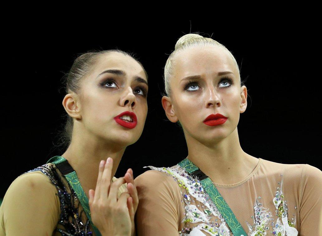 Маргарита Мамун и Яна Кудрявцева (слева направо)