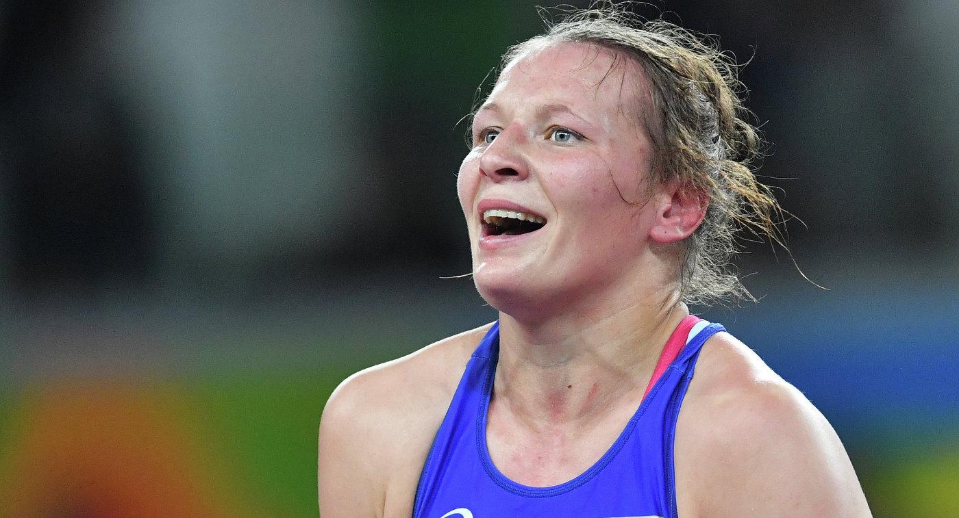 Россиянка Инна Тражукова стала серебряным призером ЧЕ по борьбе в весе до 62 кг