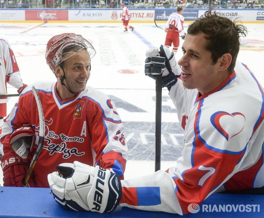 Заместитель председателя правительства РФ Аркадий Дворкович (слева) и Евгений Малкин