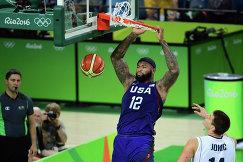 Центровой сборной США по баскетболу Демаркус Казинс
