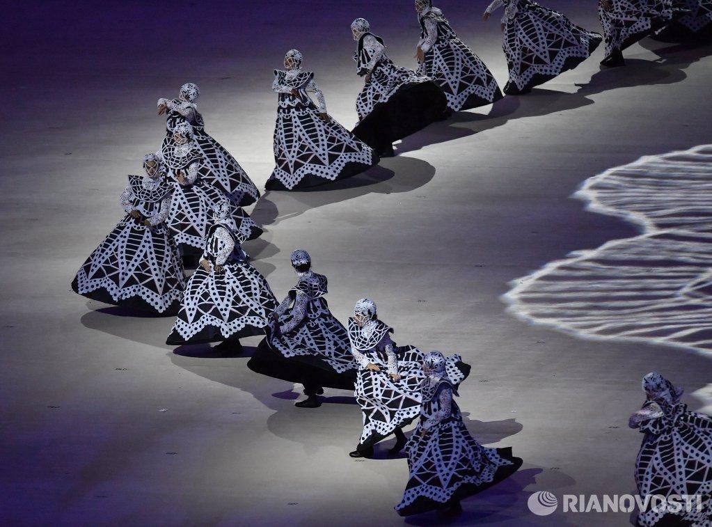 Церемония закрытия XXXI летних Олимпийских игр в Рио-де-Жанейро