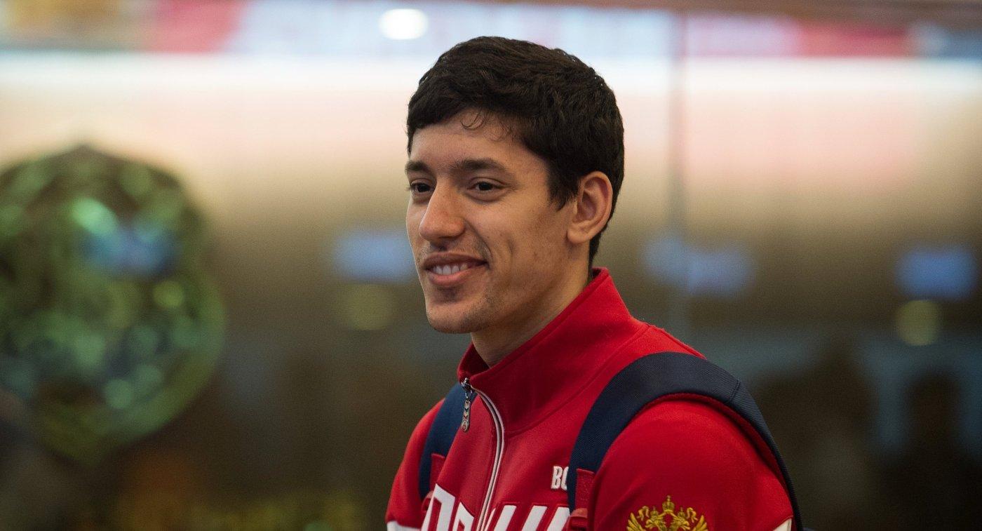 Серебряный медалист Олимпийских игр-2016 по тхэквондо Алексей Денисенко