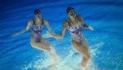 Олимпиада 2016. Синхронное плавание под другим углом
