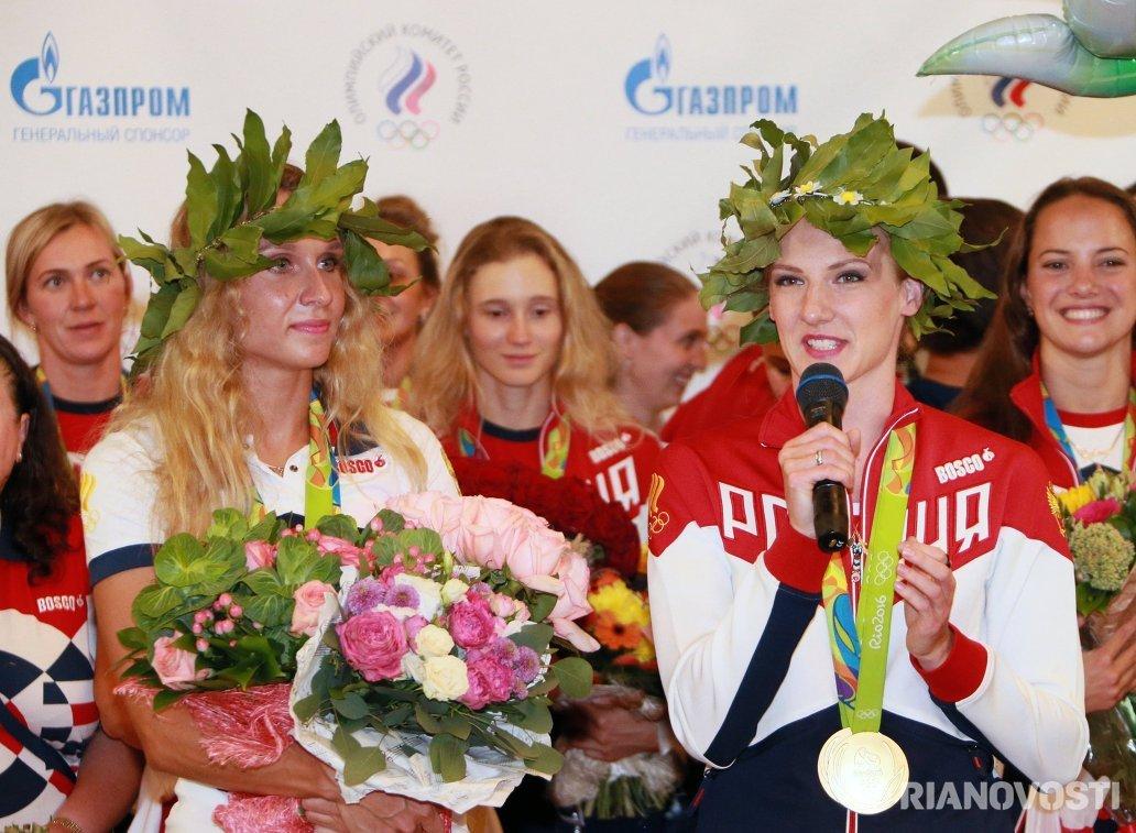 Светлана Ромашина (справа) и Наталья Ищенко