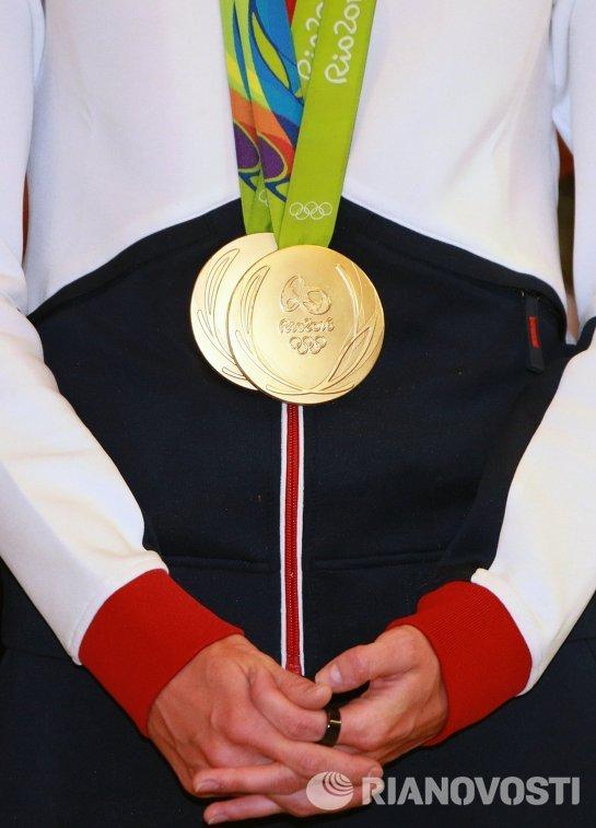 Золотые медали XXXI Олимпийских игр