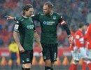 Защитники ФК Краснодар Стефан Страндберг и Андреас Гранквист (слева направо)