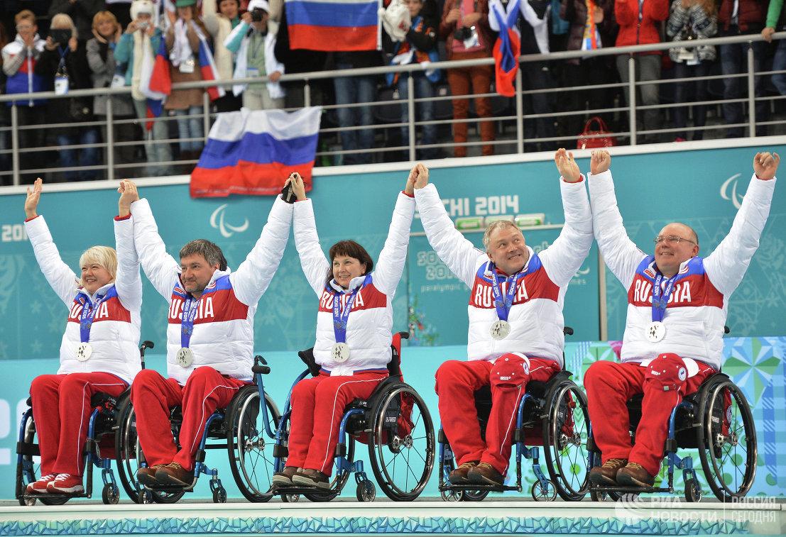 Керлингисты сборной России