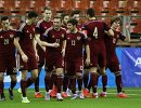Игроки молодежной сборной России по футболу