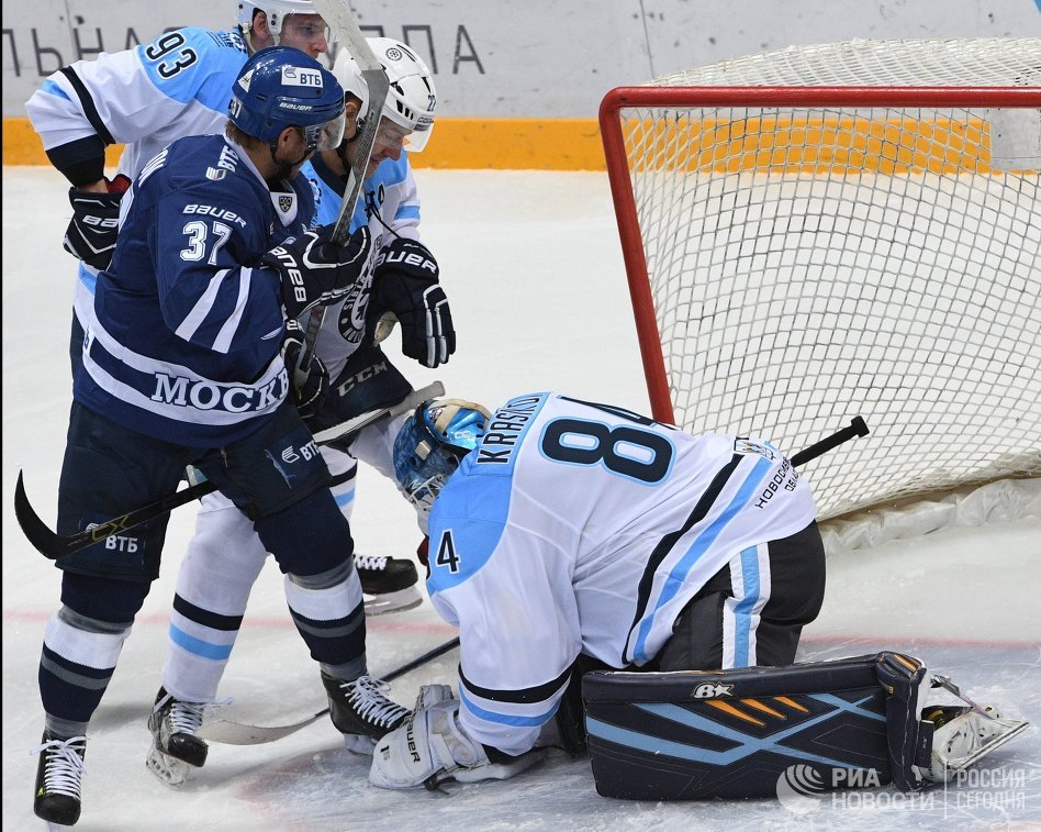 Счет Динамо Москва Сибирь